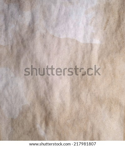 old paper good for background - stock photo