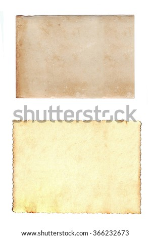 old paper - grunge texture - stock photo
