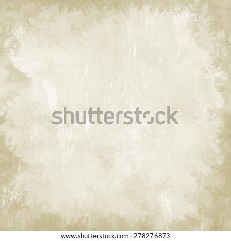 old paper, irregular spots, vignette, vintage background  - stock photo