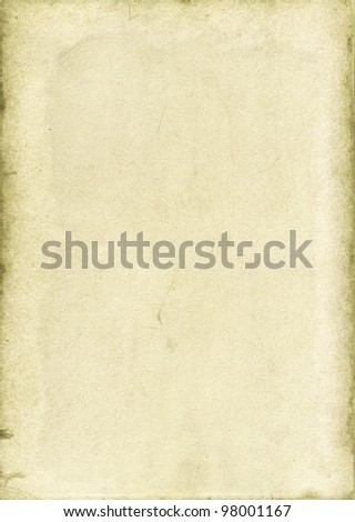 Old paper- light background - stock photo