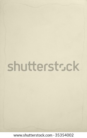 old paper on a white - stock photo