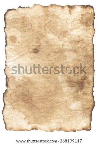 old paper, texture - stock photo