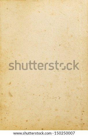 Old Paper Texture, Background - stock photo