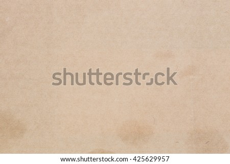 Old Paper texture - brown paper sheet texture and background - stock photo