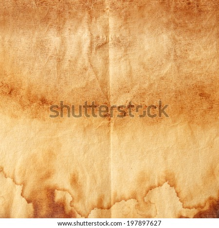 Old paper texture, paper background - stock photo