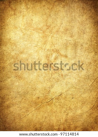 Old paper texture.Vintage grungy texture. Hi res - stock photo