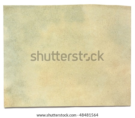 old paper with edges texture - stock photo