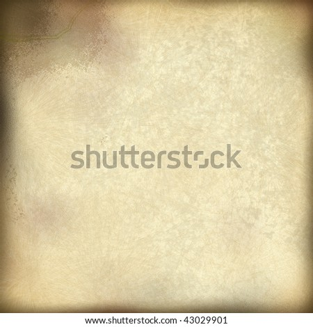 old parchment - stock photo
