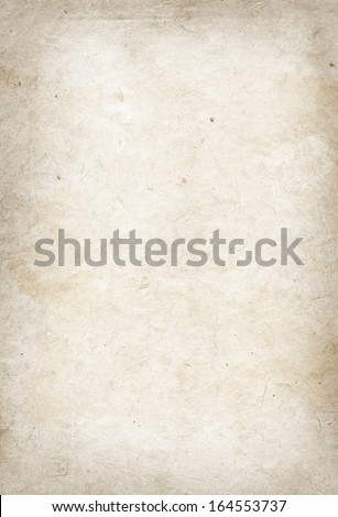 Old parchment paper texture - stock photo