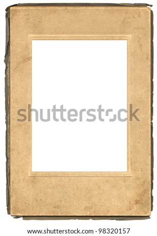 Old Photograph Frame - stock photo