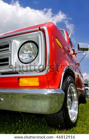 Old pick up - stock photo