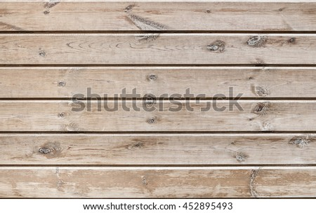 Old plank wooden  background - stock photo