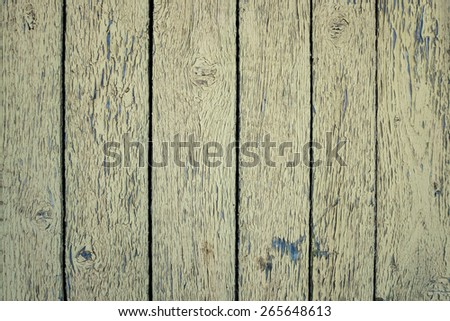 Old plank wooden wall background - stock photo
