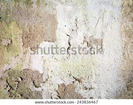 Old plaster background - stock photo