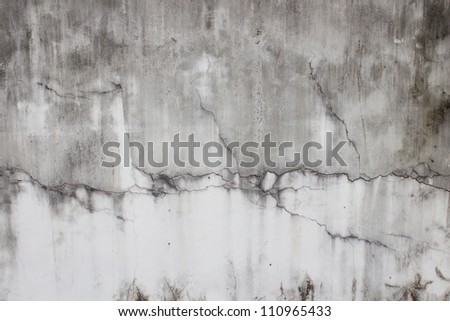 Old plaster walls. - stock photo