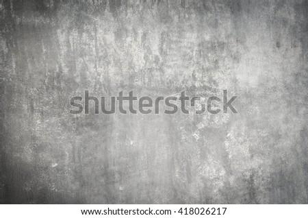 old plaster white wall - stock photo