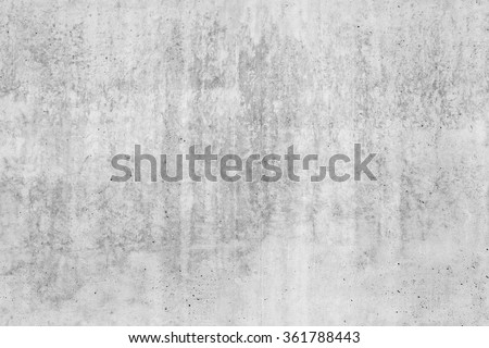 Old rough gray concrete wall, seamless background photo texture - stock photo
