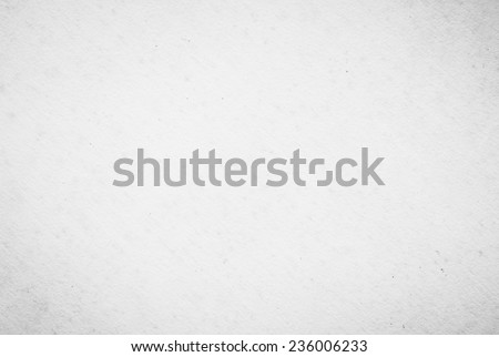Old rough grunge blank white paper texture. Abstract texture background concept. - stock photo