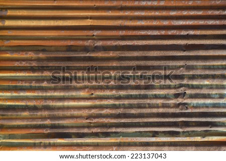 Old rusted corrugated metal siding horizontal background for Horizontal metal siding