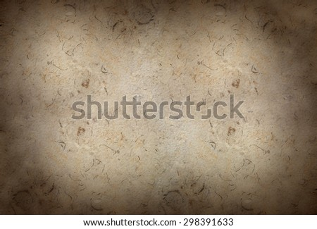 Old Rustic Wall Background | Stylish vintage texture with crackles and scratches for design - stock photo
