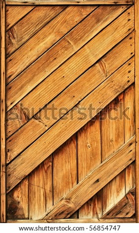 Rustic Wood Plank : old rustic wood planks texture - stock photo