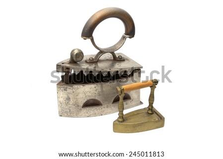 Old rusty iron - stock photo