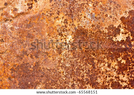 Old rusty metal - stock photo