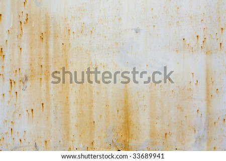 Old rusty metal texture. - stock photo