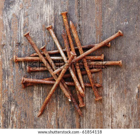 Rusty nails Stock Photos, Images, & Pictures | Shutterstock