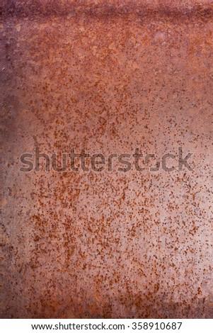 Old rusty sheet metal - stock photo