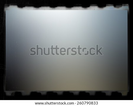 old scratched film background - stock photo