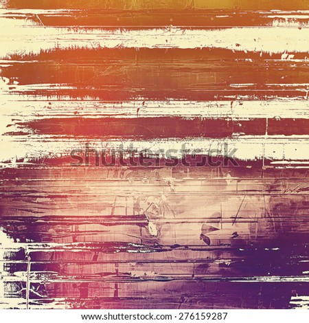 Old scratched retro-style background. With different color patterns: brown; gray; purple (violet); red (orange) - stock photo
