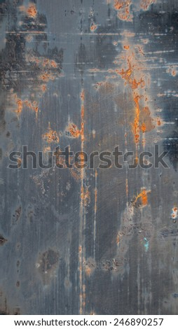 Old Scratched Rusty Texture - stock photo