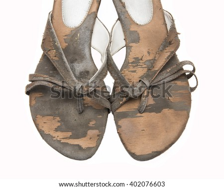 Old Shoes - stock photo