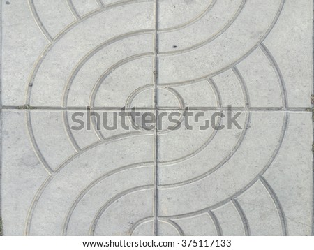 Old sidewalk texture and background - stock photo