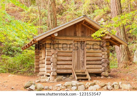 Logs stock photos images pictures shutterstock for Stili di log cabin