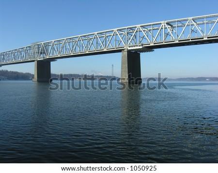 Old Steel Bridge - stock photo