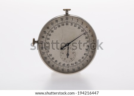 old stop watch - stock photo