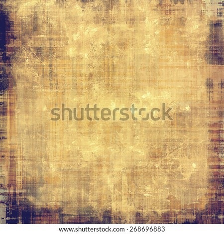 Old style detailed texture - retro background with space for text or image. With different color patterns: brown; yellow (beige); purple (violet) - stock photo