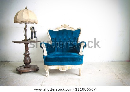 Old Styled Interior - stock photo