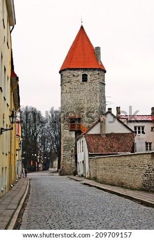 old Tallinn, Estonia, Europe - stock photo