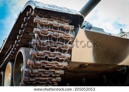 Old tank - stock photo