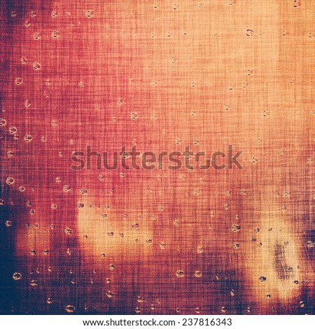 Old texture - ancient background with space for text. With different color patterns: purple (violet); red; orange; brown; yellow - stock photo