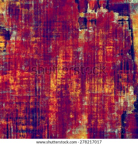 Old texture - ancient background with space for text. With different color patterns: yellow (beige); purple (violet); red (orange); pink - stock photo