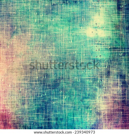 Old texture or antique background. With different color patterns: purple (violet); green; blue - stock photo