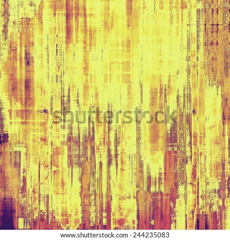 Old texture - perfect background with space for your text or image. With different color patterns: purple (violet); yellow (beige); brown; pink - stock photo