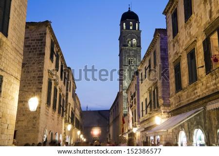 old town, Dubrovnik, Croatia - stock photo
