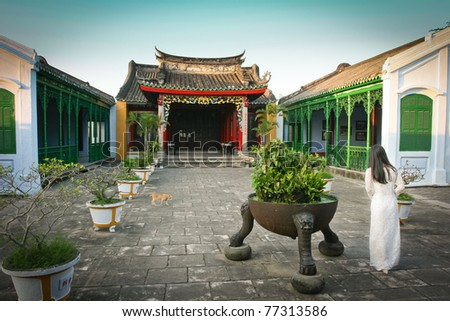 Old town, Hoi An, Vietnam - stock photo