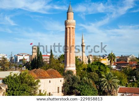 Old town Kaleici in Antalya, Turkey  - stock photo