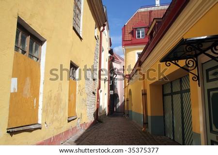 Old town Tallinn, Estonia - stock photo